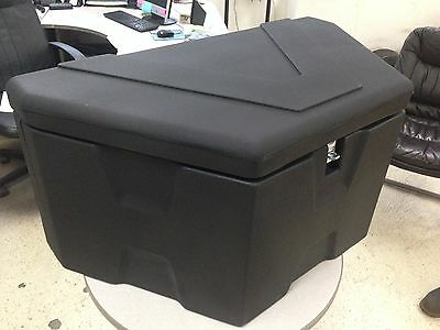 TONGUE MOUNTED TRAILER TOOL BOX FOR UTILITY,CAR,EQUIPMENT, CARGO TRAILERS