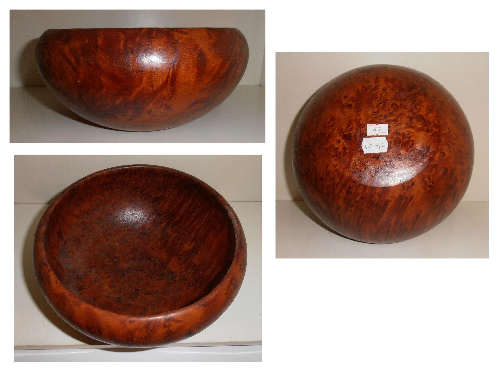 Ciotola cm 23 radica, legno radice tuya tuja tuia, artigianato africano, C23-42