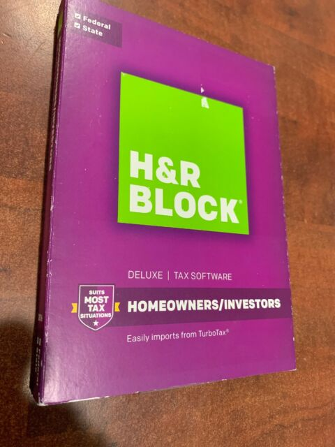 New Sealed H/&R Block Basic Federal Tax Software 2016