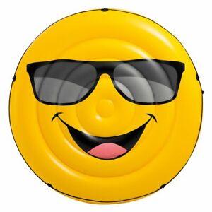 Intex-57254-Materasso-Galleggiante-Isola-Smile-173x27-Cm-Gioco-Piscina