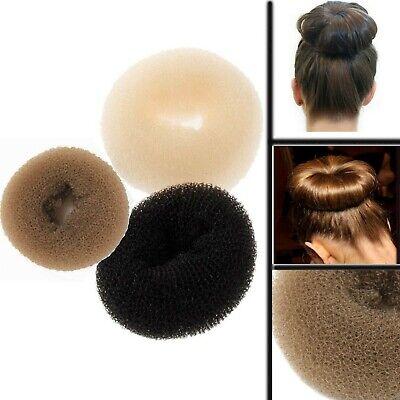 Bun Former Bun Shaper Dancing Ballet Hair up Hair Styling Blonde Brown Black 8cm