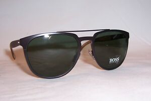 d00a6ee8e3 NEW HUGO BOSS Sunglasses 0882 S 0S3-85 BROWN GRAY GREEN AUTHENTIC ...