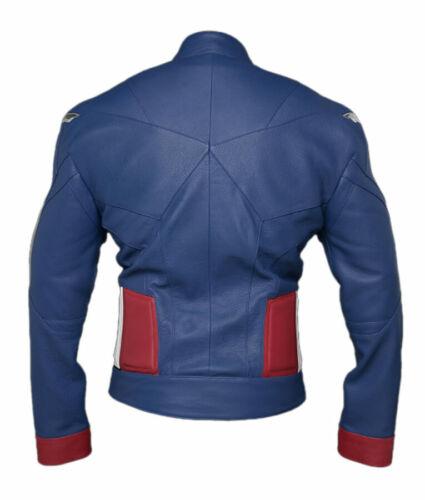 Avengers Endgame Captain America Jacket Costume