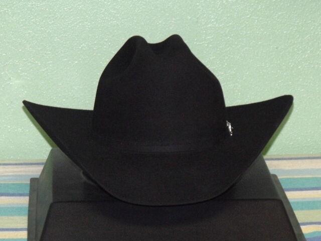 Stetson Lariat 3x Black Beaver Felt Cowboy Western Hat 7  d74f5450f90