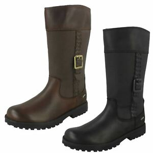 Girls Clarks Knee High Boots 'rhea Go Gtx' So Effektiv Wie Eine Fee