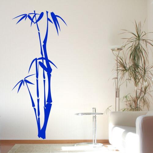 Bamboo 3 Autocollant Mural Décalcomanie Transfert nature arbre plante chinoise japonaise Vinyle