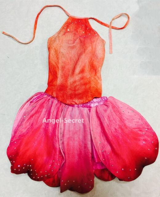 FP279 rosetta fairy velvet and chiffon top and skirt