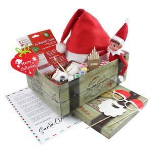 christmas eve activity box chest letter from santa personalised
