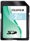 6x Fujifilm SD Memory Card 2gb MULTIBUY OFFER