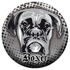 DEUTSCHER BOXER CLEO Hunde Sticker Aufkleber - Molosser wetterfest DUB