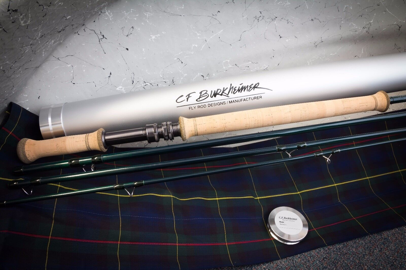 CF Burkheimer 7117-4 Spey Rod - Classic Finish - New - FREE Shipping