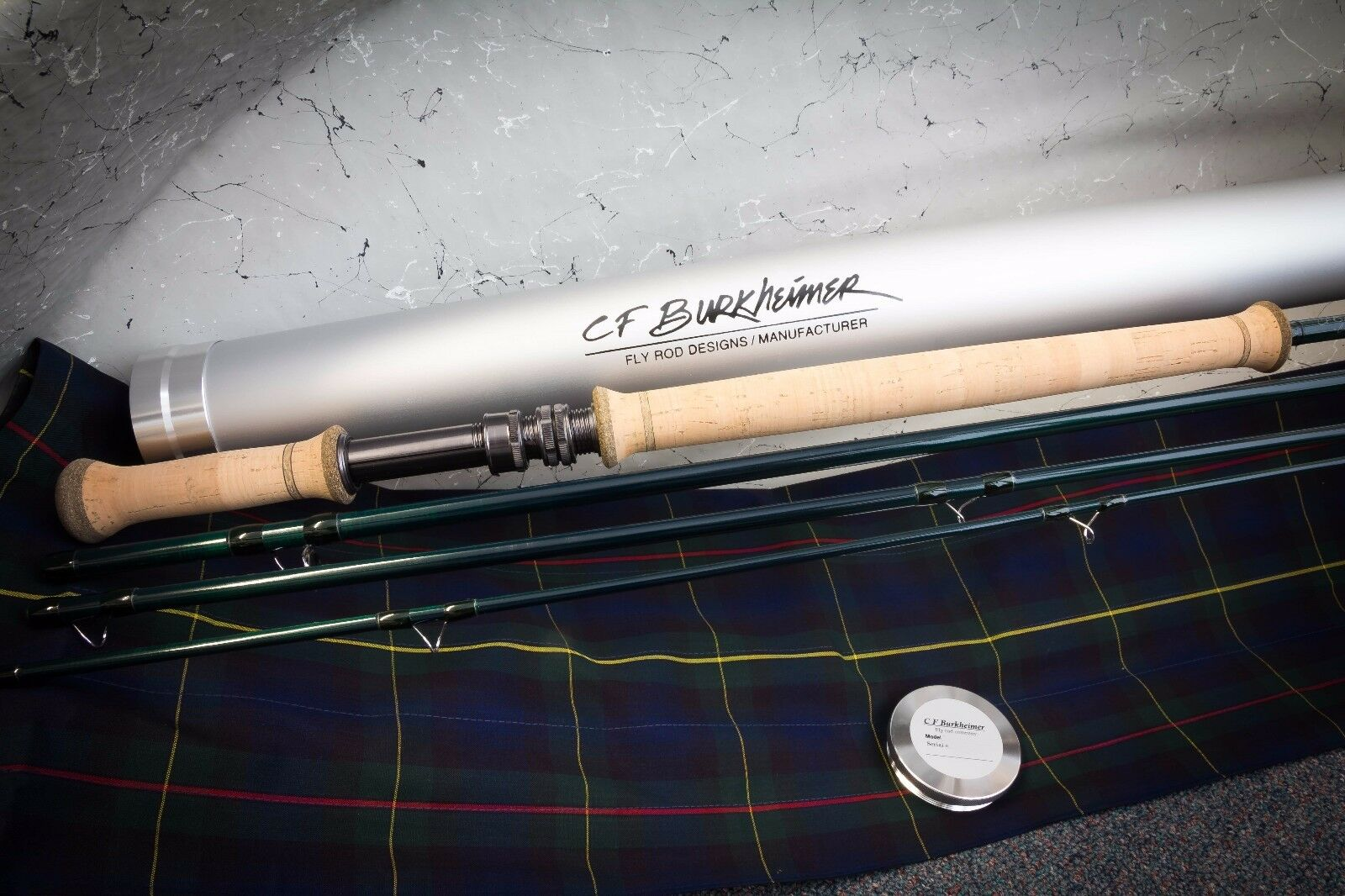 CF Burkheimer 8134-4 Spey Rod - Classic Finish - New - FREE Shipping