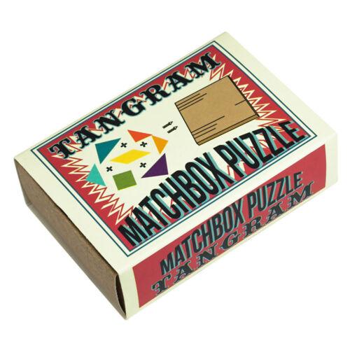 Professor Puzzle ROMPICAPO MATCHBOX Tangram