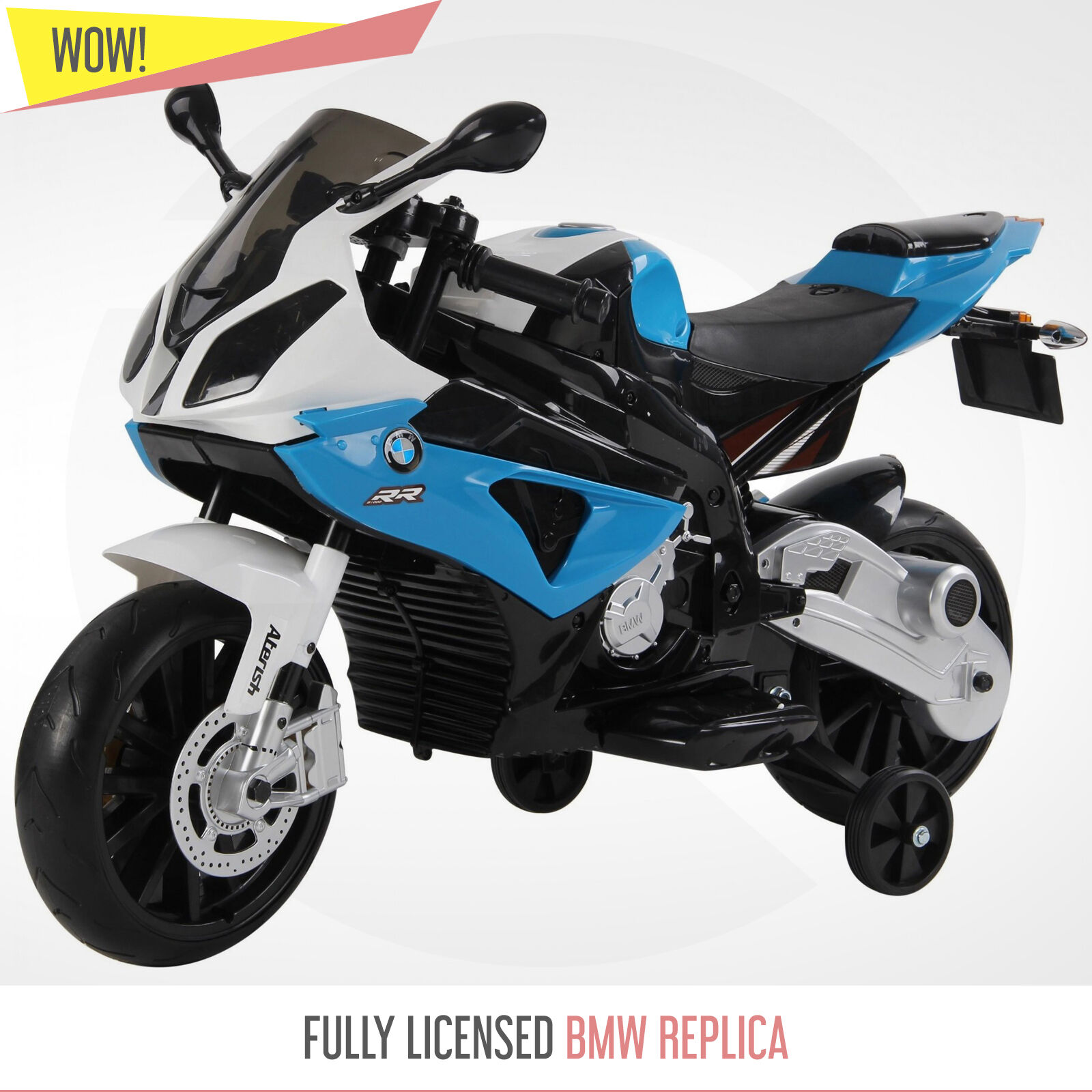 BMW S1000RR 12v 12v 12v Kids Electric Ride On Bike Motorbike Official Licensed BMW Bikes 1361cb