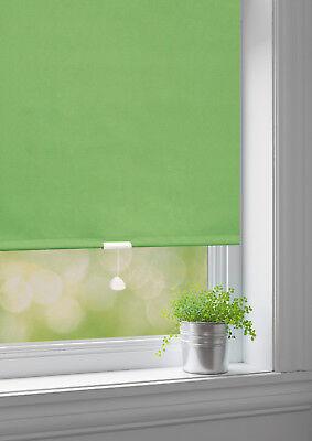 Klug Springrollo Mittelzug Schnapp Rollo Fenster Sonnenschutz Sichtschutz Dekoration Neueste Mode