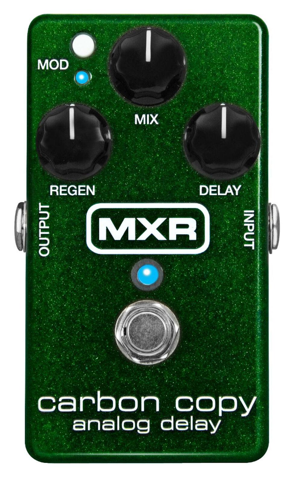 MXR Carbon Copy Analog Delay M169 Effects Pedal Dunlop M 169