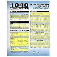 1040 Express Answers (2013) by CCH Tax Law Editors