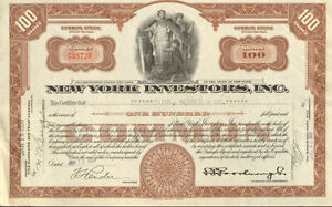 New-York-Investors-gt-old-NY-stock-certificate-share