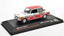 SIMCA 1100S Rallye Monte Carlo 1972 1:43 IXO ALTAYA