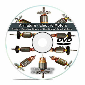 Armature Electric Motors Design Construction And Winding