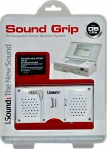 Nintendo-DS-Lite-Rechargeable-Stereo-Speaker-System-Sound-Grip-Accessory-iSound