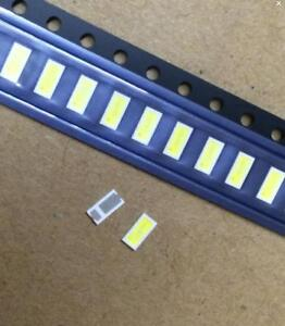 5X-LED-SMD-4020-6-6-5V-1W-160MA-COOL-WHITE-110LM-X-TV-RETROILLUMINAZIONE-PCE