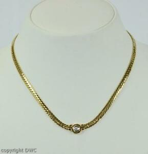 Hals-Collier-mit-Brillant-Diamant-Brilliant-Diamond-aus-585-Gold-Kette-Damen