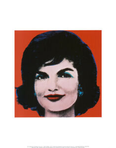 Andy-Warhol-Jackie-Kennedy-1964-Pop-Art-Abstract-Painting-Print-Poster-New-11x14