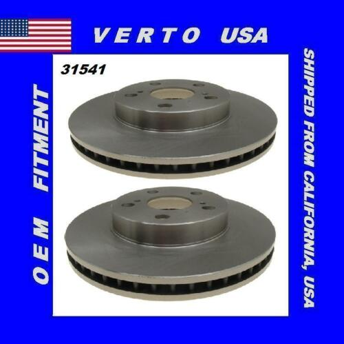 Front Brake Rotors For Lexus CT200h 2011 to 2014 Toyota Prius 2010 to 2013