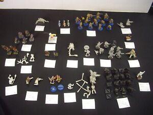 Warhammer / atelier de jeux: Necromunda, bloodbowl, mordheim Multilisting A5