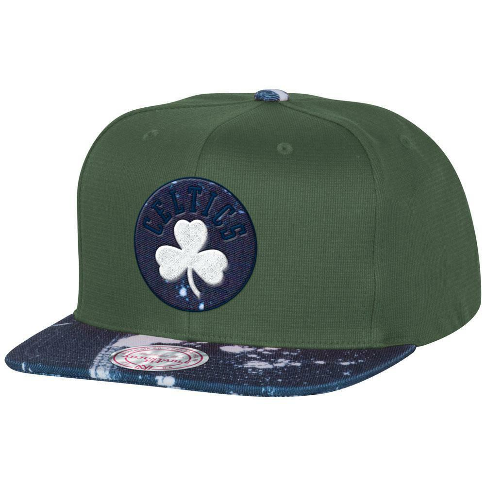 Boston Celtics - Stained Denim Mitchell & Ness Adjustable Adjustable Adjustable Baseball Cap bd2167