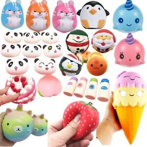 Silly Squishies Squishy Collection : Jumbo Slow Rising Squishies Scented Cute Squishy Squeeze Charm&Toy Collections eBay