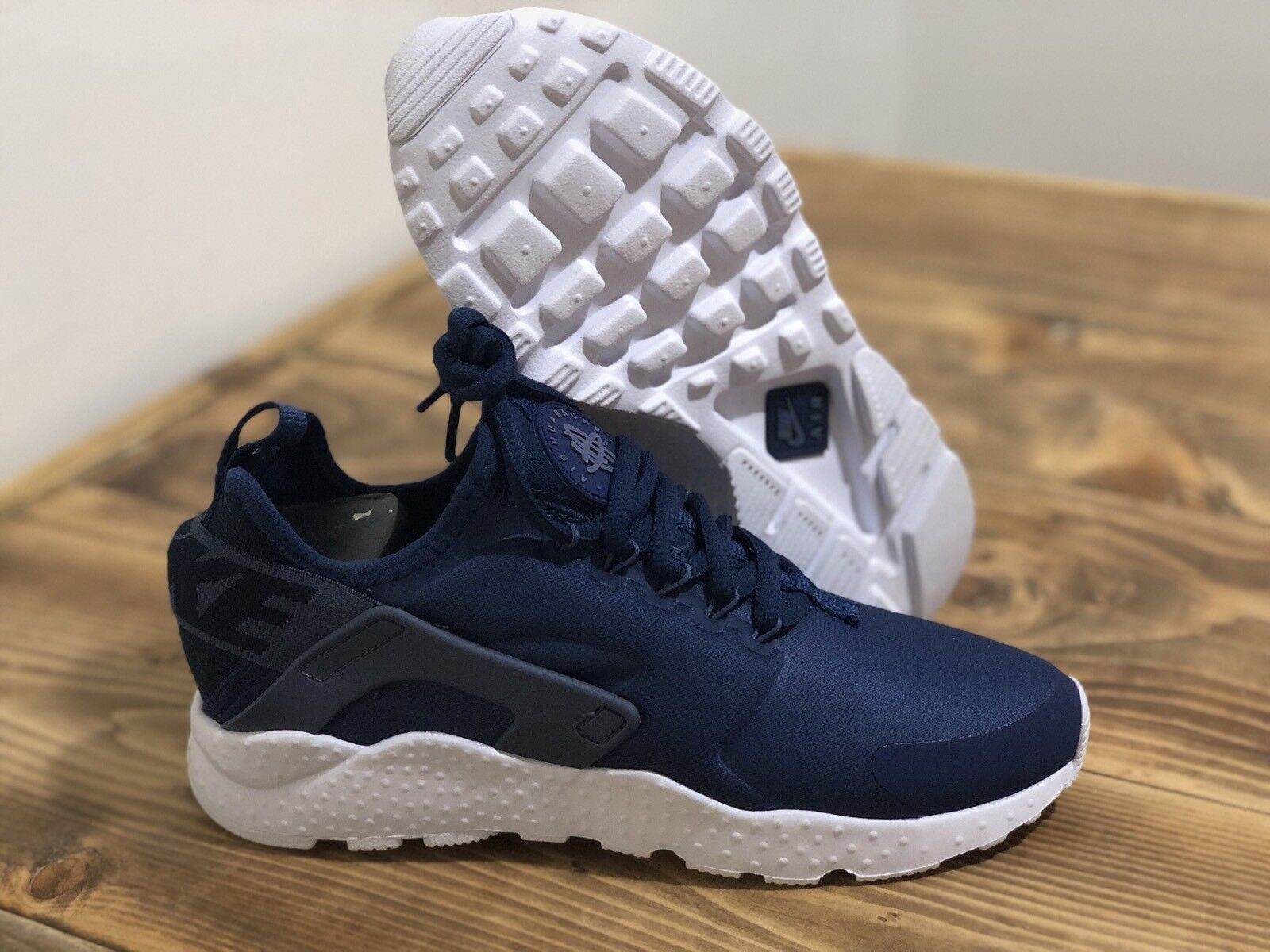 NIke Air Huarache Ultra Navy bluee OBSIDIAN Women's Sz 6  819151-404