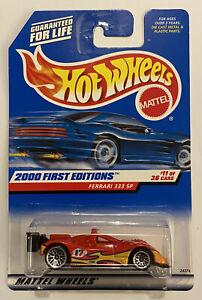 2000-Hotwheels-Ferrari-333-Sp-Vermelho-Rosso-muito-Raro-Perfeito-Moc