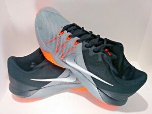 261acdbdb2145 NEW Nike Retaliation TR Men s Grey Black Orange TRAINING CASUAL SIZE ...