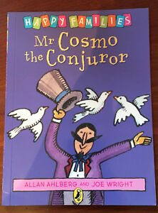 Mr-Cosmo-the-Conjuror-by-Allan-Ahlberg-Paperback-Book-Happy-Families-Childrens
