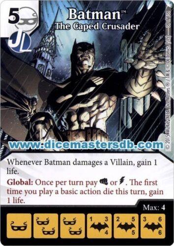 Batman The Caped Crusader #38 DC Dice Masters Justice League
