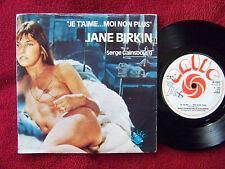 Jane Birkin - Je t'aime   engl. orig. 45  auf Antic  rares nude Cover
