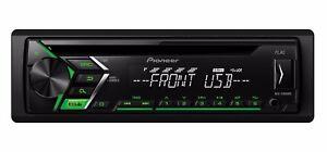 Autoradio-Pioneer-DEH-S100UBG-CD-MP3-USB-AUX-IN-riproduzione-WMA-MP3-WAV