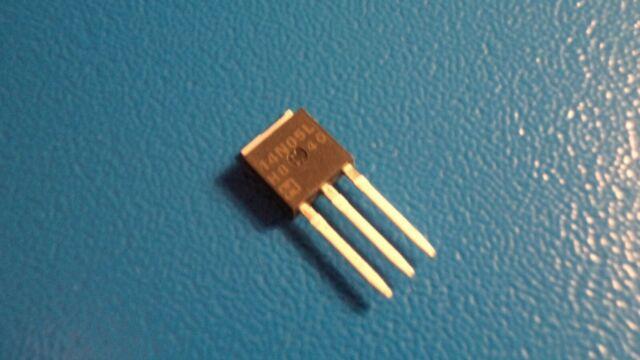 Part # RFD14N05L LOGIC N I-PAK 5 X MOSFET