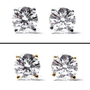 0-50-Ct-Round-Cut-14K-Gold-Diamond-Stud-Earrings