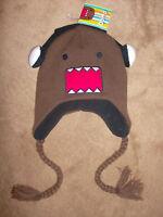 Domo Kun Face With Headphones Dj Japan Peruvian Adult Pilot Laplander Hat