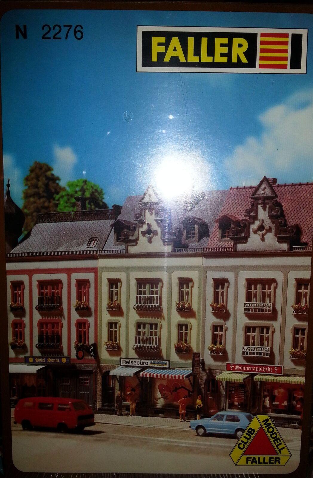 Faller N 232276 Stadthaus  Reisebüro Sonne  Neu  | Online einkaufen