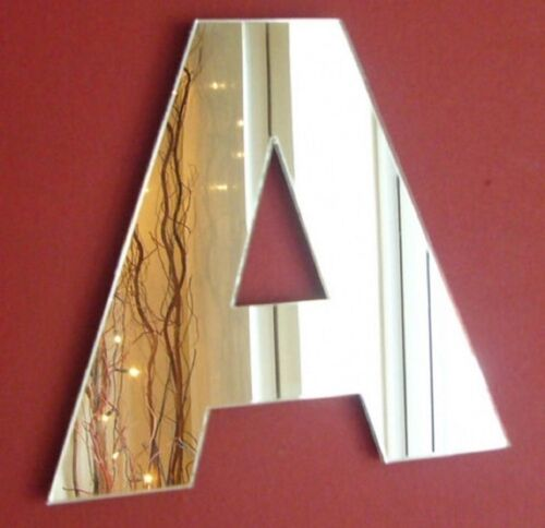 Contemporary Letter Mirror 15 cm