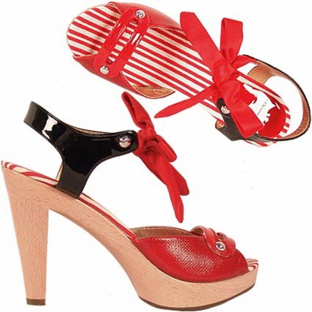 Christian Lacroix sandalo sandalo Lacroix bcolore, bicolor sandals f98cb9