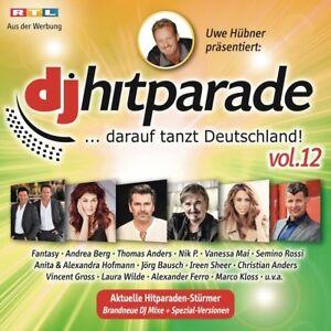 DJ-HITPARADE-VOL-12-Andrea-Berg-Thomas-Anders-Semino-Rossi-Nik-P-CD-NEW
