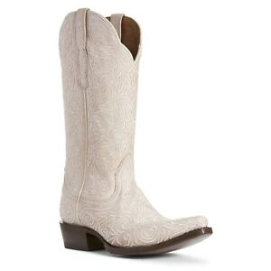 White Ariat Boots