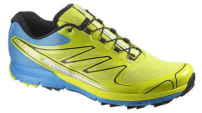 Running Shoes Salomon Sense pro, Profeel, Green Blue, 370728, EAN 0887850482671 | eBay