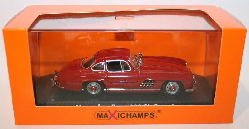 Maxichamps 1 43 Scale Diecast 940039001 Mercedes Benz 300Sl Coupe 1955 rosso