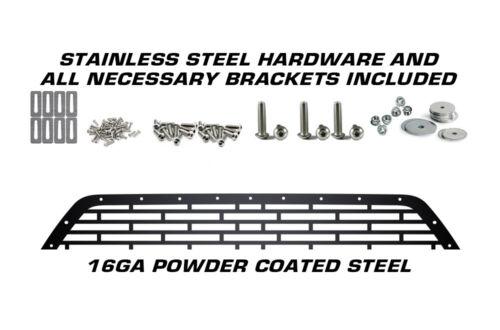Custom Aftermarket Steel Lower Bumper Grille Overlay for Dodge Challenger 15-17
